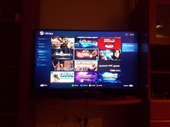 SteamOS Games